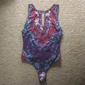 Free People bodysuit